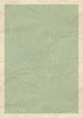 mid century: Vector texture of a old green sheet in mid century style