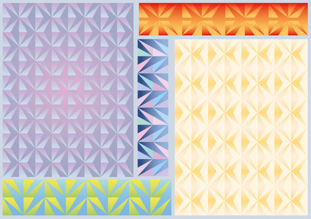 patternbackground: Pattern.Background geom�trico incons�til con pol�gonos triangulares de color.
