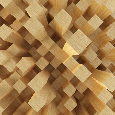Abstract image of cubes background    Stock Photo