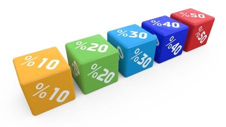 ten best: 3d cube sale discount percent business