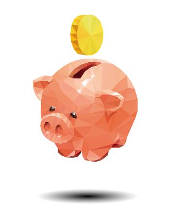 debt collection: Savings vector
