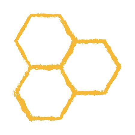 Bee comb vector
