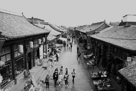 Pingyao Ancient City Archivio Fotografico - 111724504