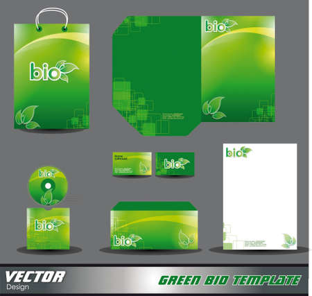 Template for advertising Vector