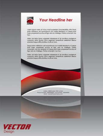 business brochure, flyer Vector