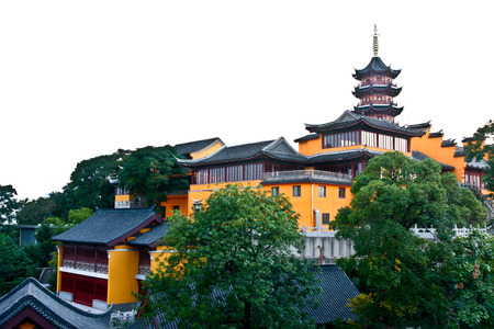 The Jiming Temple is a renowned Buddhist temple in Nanjing, Jiangsu, China. One of the oldest temples in Nanjing, it is located in the Xuanwu District near Xuanwu Lake. Editorial