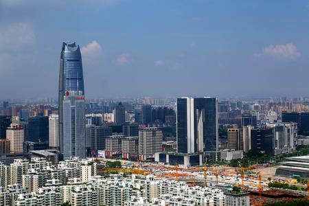 The city scenery of Fengshan in Nancheng, Dongguan