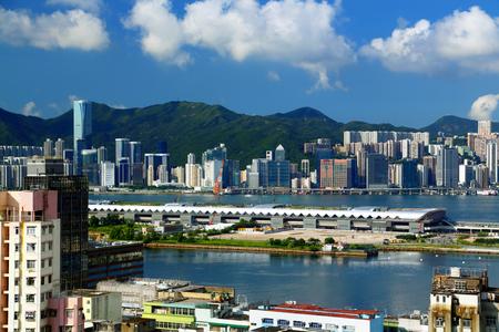 Urban architectural scenery in Hongkong