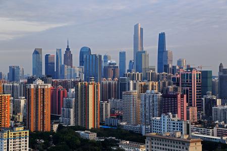 Night view of Zhujiang New Town, Guangzhou