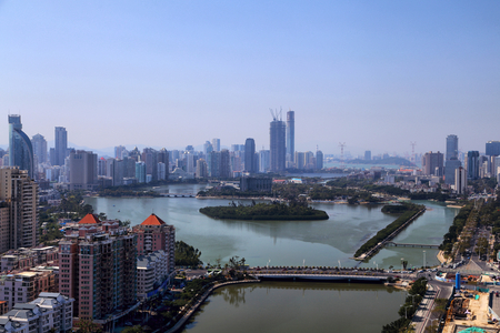 Xiamen Yuandang Lake City Scenery