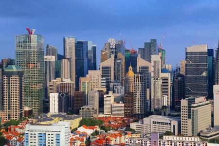 Cityscape in Singapore Editorial