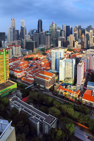 Cityscape in Singapore Stock Photo - 98810522