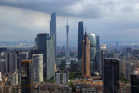 Guangzhou Tianhe City Architectural scenery Editorial