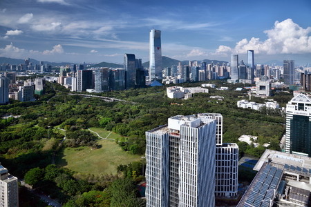 Shenzhen Nanshan City Scenery Editorial