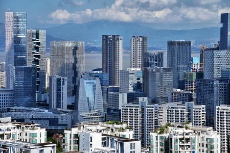 Shenzhen Nanshan Houhai Science and Technology Park scenery Redakční