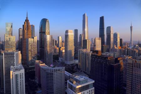 Guangzhou Zhujiang New Town City Scenery Editorial