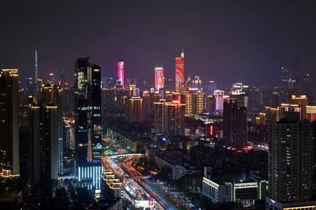 Shenzhen Festival Night Scene City Scenery