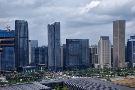 Guiyang Guizhou Financial City scenery