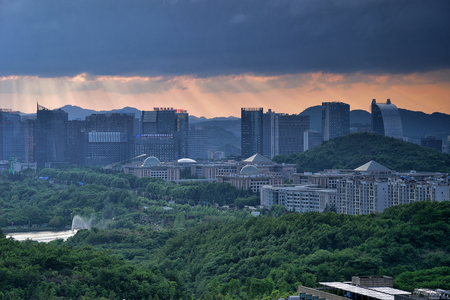 Guiyang Financial City scenery