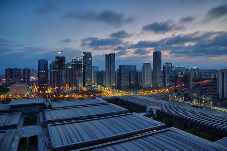 Guiyang Guizhou City City scenery night view