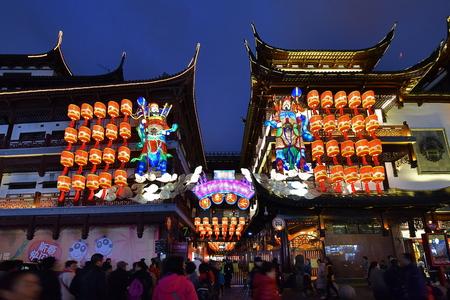 Shanghai Yuyuan Lantern Festival
