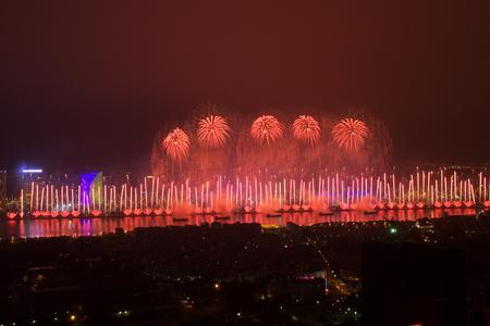 Guangzhou Spring Festival Pazhou Fireworks
