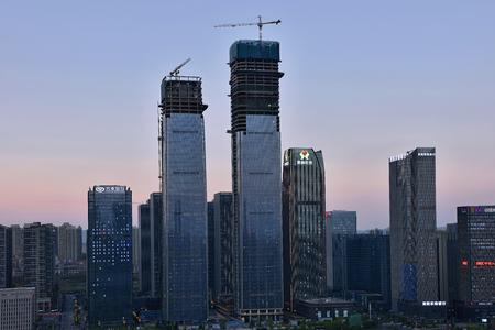Guiyang Guizhou Financial City Architecture