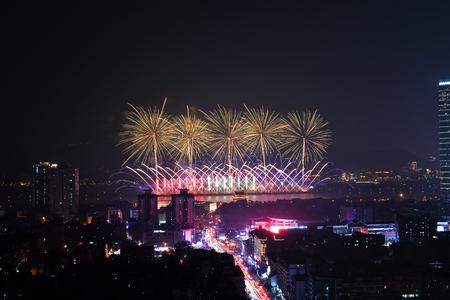 Changsha Orange Island Fireworks Sajtókép