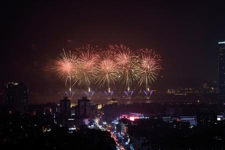 Changsha Orange Island Firework Sajtókép