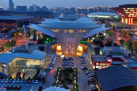 Shanghai World Expo Night Scene