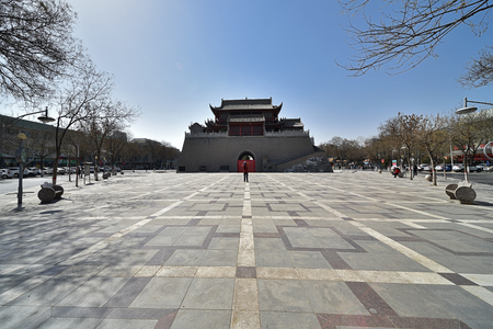 Ningxia Yinchuan Yuhuang pavilion