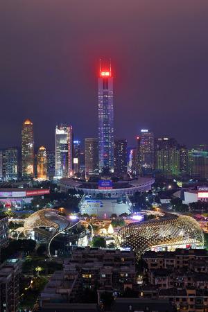 Guangzhou Tianhe CITIC Plaza City Scenery Night Scene