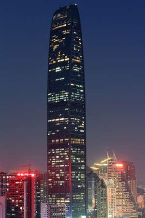 Shenzhen Luohu City scenery night view
