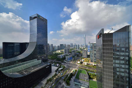 Cityscape of Suzhou Industrial Park
