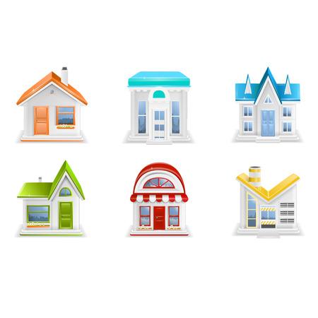 bungalow: Building icons