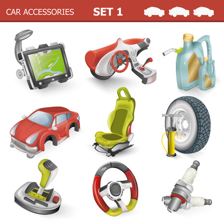 motor car candles: Car accessories