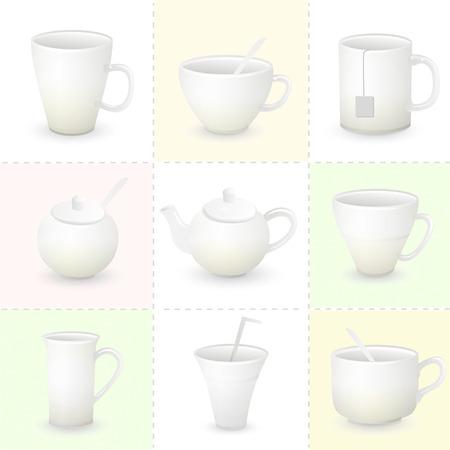 dinnerware: Cup set