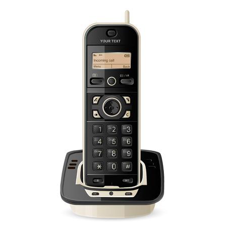 Wireless Phone Vectores