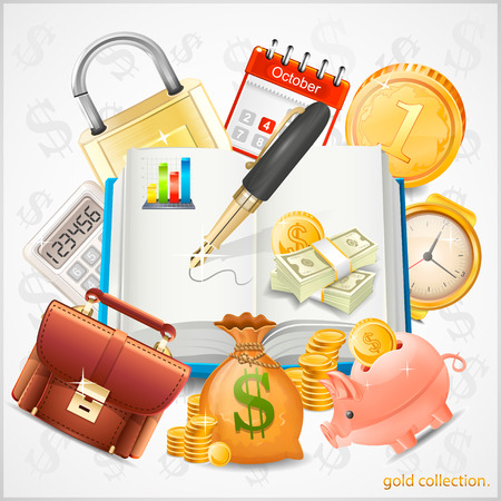 number lock: Items of business, money, gold coins