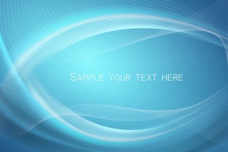 抽象的な青い背景のベクトル  イラスト・ベクター素材