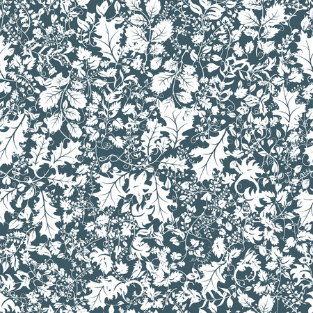 Seamless floral pattern vector illustration Vettoriali
