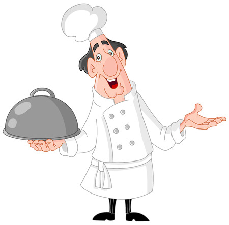 Smiley chef Stock Vector - 6096052