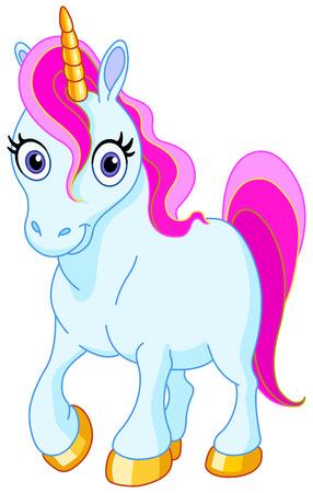 donkey tail: Unicornio lindo