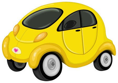 Cute mini car Stock Vector - 6126995
