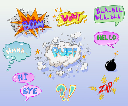puff: Comic book elements