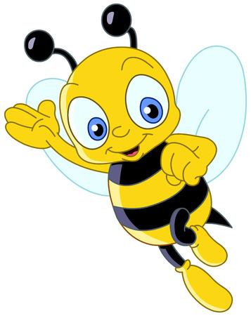 Cute bee Stock Vector - 6652942
