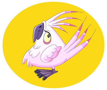 Smiley parrot Stock Vector - 6653013