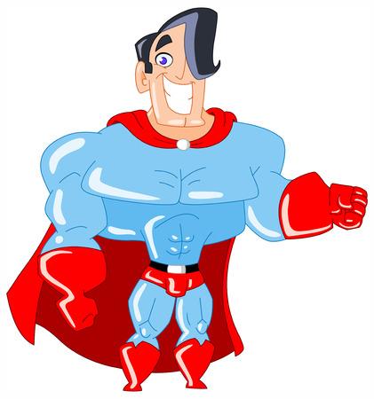 Charming superhero