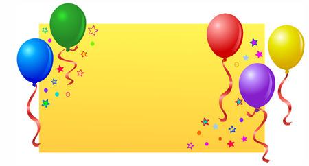 Party balloons Stock Vector - 6783314