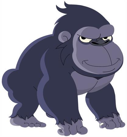 Gorilla Cartoon Stock Vector - 6783310